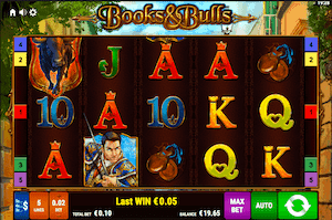 Book and Bulls online slot