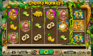 Cheeky Monkeys online video slot