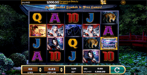 Dangerous Beauty Online Slot