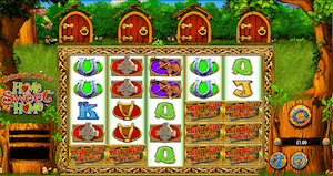 Rainbow Riches home sweet home online video slot