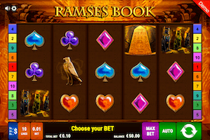 Ramses Book online slot casino game