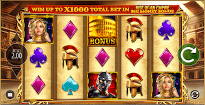 Rome Rise of an Empire online video slot